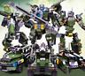 Bausteine GUDI Transform Series Panzerwagen Auto + ROBOTER 2in1 Spielzeug