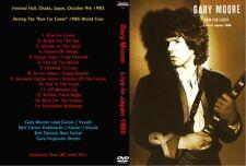 Gary Moore 1985 Live in Osaka, Japan DVD