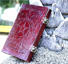 Pentacle DesignHandmade Leather Journal Diary Leather Sketchbook Notebook Artist