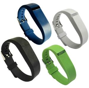 4PCS Replacement Watch Strap Band For Fitbit Flex Fitness Wristband