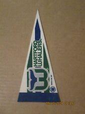 New ListingNhl Hartford Whalers Vintage Defunct 1991 Team Logo Mini Hockey Pennant