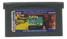 30 in 1 Multicart GBA Game Boy Advance w/ Case Movie Games Ghost Rider Iron Man
