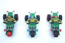 Carrera GO! Ninja Turtles Leonardo - Raphael 1:43 scale Slot car LOT 3 cars