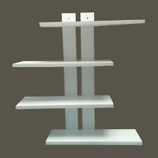Handclap Floating 4-Tier Wall Shelves For Home And Decor Wall Mount