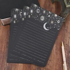12pcs/pack Starry Sky Writing Letter Stationery Romantic Creative Note Paper