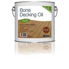 BONA Decking Oil - Neutral - 2,5 L * Außenbereich * Powierzchnie na zewnątrz