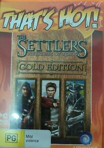 The Settlers Heritage of Kings Gold Edition Ubisoft PC DVD ROM Game
