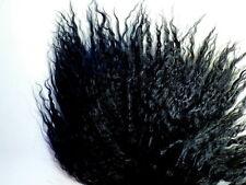"""Black Tibetan Lamb Mohair  4x6"""" Doll Hair Wigs"""