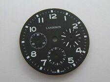 CADRAN LANDERON TRICOMPAX TYPE XX 34MM DE DIAMETRE N.O.S..