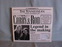 Carry & Ron- Legend in the Making- Digipak aus 1995