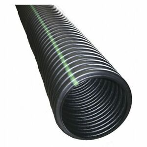 """Advanced Drainage Systems 4540010 4"""" X 10 Ft. Corrugated Drainage Pipe"""