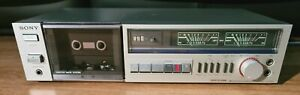Vintage Sony Stereo Cassette Tape Deck Player Recorder HiFi Separate