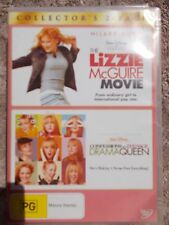 THE LIZZIE McGUIRE MOVIE//CONFESSIONS OF A TEENAGE DRAMA QUEEN 2 X DVD PG R4