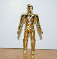 """Vintage STAR WARS C3PO Action Figure 1977 Kenner 3.75"""" ANH Hong Kong Very Clean"""