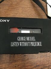 ❣RARE❣UK PROMO ONLY•Listen Without Prejudice SONY WALKMAN~George Michael Wham!