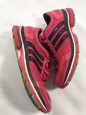 Adidas Womens Size 7 Athletic Sports Running Shoe Pink Blk Adizero Aegis U41846