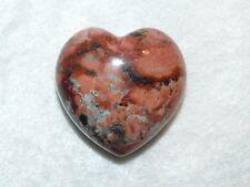 Premium Brecciated Jasper Mineral Stone Heart  010