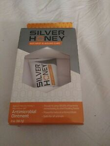 Absorbine Silver Honey Hot Spot & Wound Care Ointment, Manuka &...