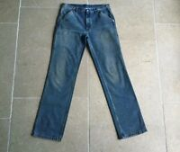 Maison Margiela Jeans - Men's MMM Denim Aged/Distressed Jeans - 34/34