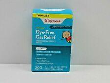 Walgreens, Twin Pack, Infants Dye-Free Gas Relief