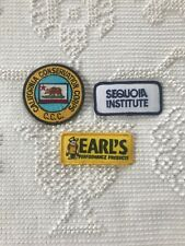 Vintage Patch Denim Jacket California Conservation Sequoia Institute Earl Lot 3