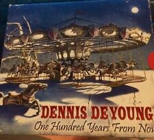 One Hundred Years from Now by Dennis De Young CD Styx Signed And VIP Pass.