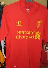 LIVERPOOL - JAMIE CARRAGHER SIGNED JERSEY - UNFRAMED - PHOTO PROOF OF SIGNING