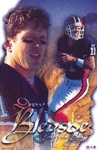 2002 Drew Bledsoe Buffalo Bills Original Starline Poster OOP
