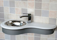 Caesar Wall Mounted Vanity Basin (Tap not included)