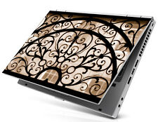 Laptop Notebook Skin Sticker Cover Ancient Window Dell Toshiba Sony NEC 17 Inch