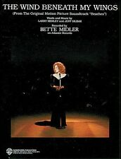 The Wind Beneath My Wings from Beaches Sheet Music Piano Vocal Bette M 000321838