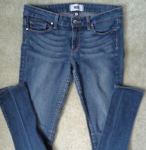 Paige Womens W 28 W 29 / 2 Stretch 213319 Peg Skinny Premium Denim Jeans