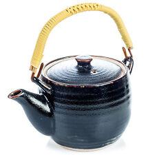 Tenmoku Black Japanese Teapot