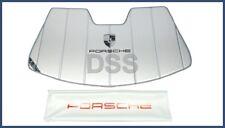 Genuine Porsche 911 UVS Sun Shield Visor Heat w/ Bag 991 (12-14) OEM PNA505991