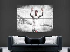 Real Madrid Cristiano Ronaldo Poster La Liga Fútbol Fútbol de impresión de arte cartel