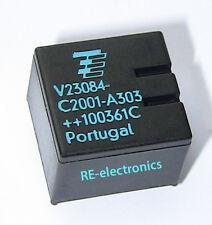 Tyco Relay v23084-c2001-a303 former siemens for bmw gm5 locking e46 x3 e85 New