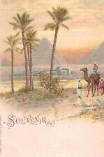 Egypt,No.Africa,Souvenir de Pyramids of Giza,c.1898-1901