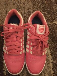 K Swiss Womens Leather Trainers Size Uk 6 Nearly New