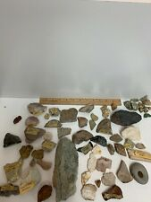 Lot of Rocks & Minerals. Quartz, Agate, Amazon Stone, Petrified Wood & more