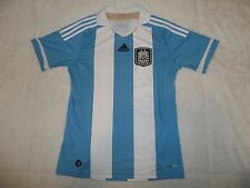 Nwot Mint! Sewn Team Argentina Adidas Soccer Jersey Youth Boys Xl 18-20 Messi