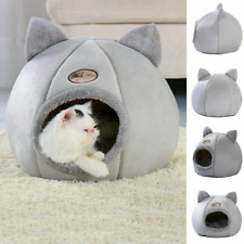Warm Hunde Katzen Höhlennest Haustier Katzen Nest Haus Bett Katzenhöhle M/L/XL