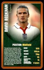 Top Trumps - European Football Stars (2004) David Beckham (England)