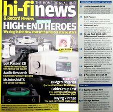 HI-FI NEWS ACOUSTIC ENERGY REF 3 Q ACOUSTICS CONCEPT 20 AUDIO RESEARCH SP20