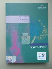 Zahnärztliche Pharmakologie formum-med-dent 2008 Zahnmedizin
