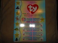 1998 TY BEANIE BABY WHOLESALE CATALOG BEANIE BABIES COLLECTION + ORDER FORM