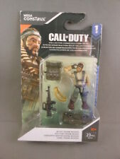 New M SGT. FRANK WOODS Mega Construx Call Of Duty Series 1 COD Game Mini Figure