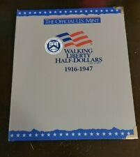 H. E Harris Walking Liberty Half Dollars Album 1916-1947