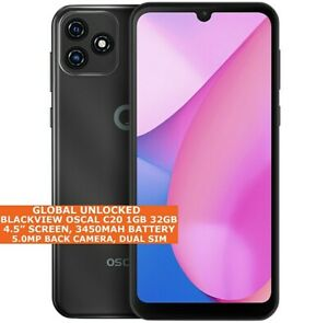 """BLACKVIEW OSCAL C20 32gb Quad Core 6.8"""" Face Id Dual Sim Android11 3g Smartphone"""