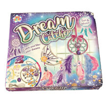 Kids Create Dream Catcher Kit Sun & Moon Creative Easy to Make Colourful Gift