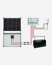 enjoysolar® Solar Set BasicSET Polykristallin 50Watt 12V LS1024EU Wohnmobil